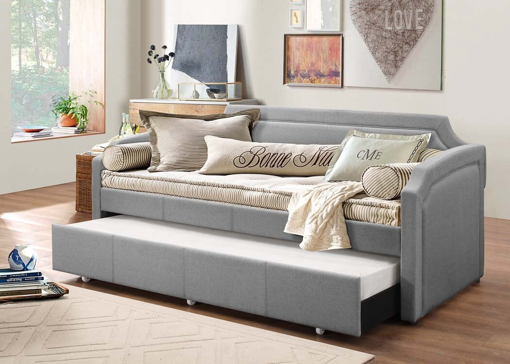 Latitude Run Marnie Daybed With Trundle Amp Reviews Wayfair