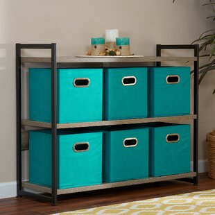 Charmant Teal Storage Bins | Wayfair