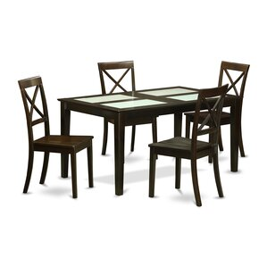 Smyrna 5 Piece Dining Set by Charlton Home
