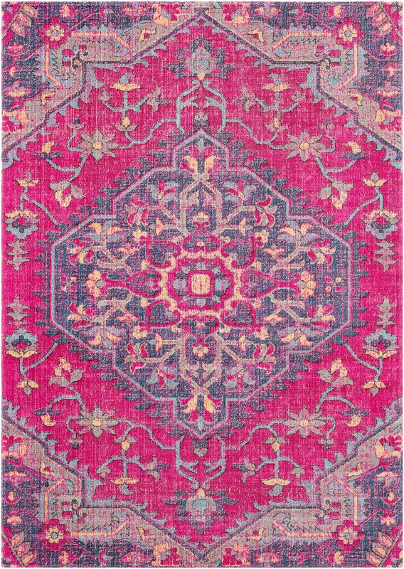 bungalow rose randhir pink purple area rug reviews. Black Bedroom Furniture Sets. Home Design Ideas