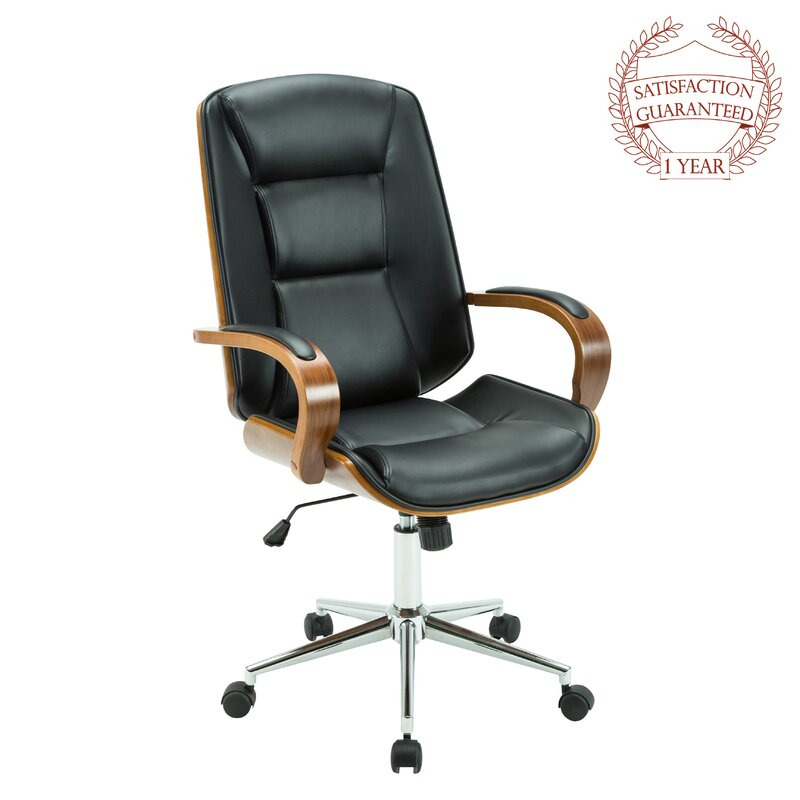 2cb2325c7c7a Turco Genuine Leather Task Chair   Reviews