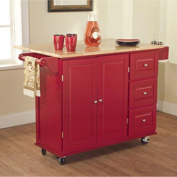 Hardiman Kitchen Island With Wood Top Amp Reviews Birch Lane