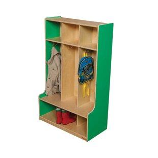 5 Section Coat Locker