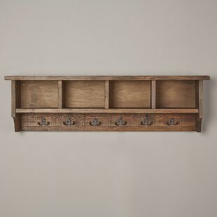 Lachlan Wall Mounted Coat Rack with Storage Cubbies : wood cubbies storage  - Aquiesqueretaro.Com