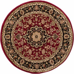 Barclay Red Area Rug