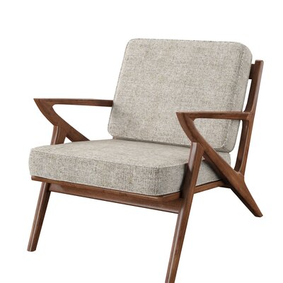 Modern Mid Century Polyester Polyester Blend Accent Chairs