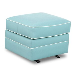 Terry Glider Ottoman by Nursery Classics
