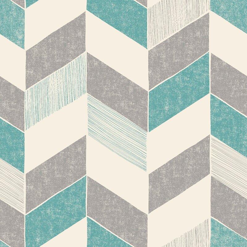 ebern designs mccloy 33 l x 20 5 w chevron and herringbone