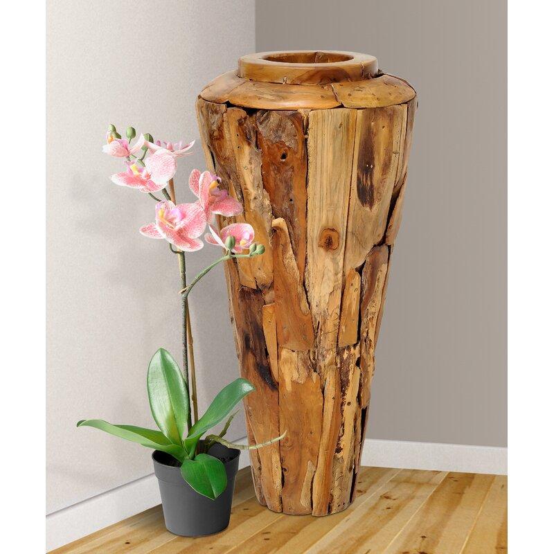 Foundry Select Brook Hollow Driftwood Floor Vase Wayfair