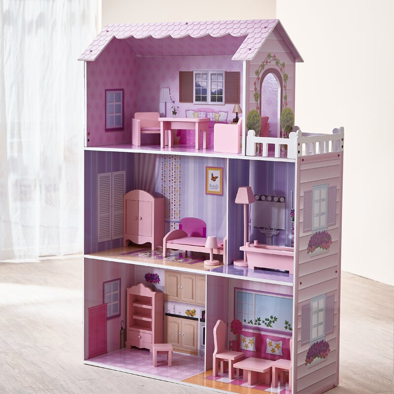 DOLLS HOUSE  = 2  Tall  Vases With Removable Lids Zabawki
