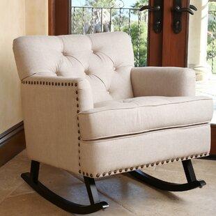Upholstered Rocking Chairs Youu0027ll Love | Wayfair