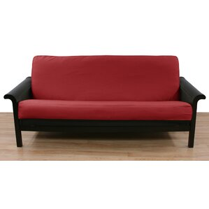 Cranberry Box Cushion Futon Slipcover by Eas..