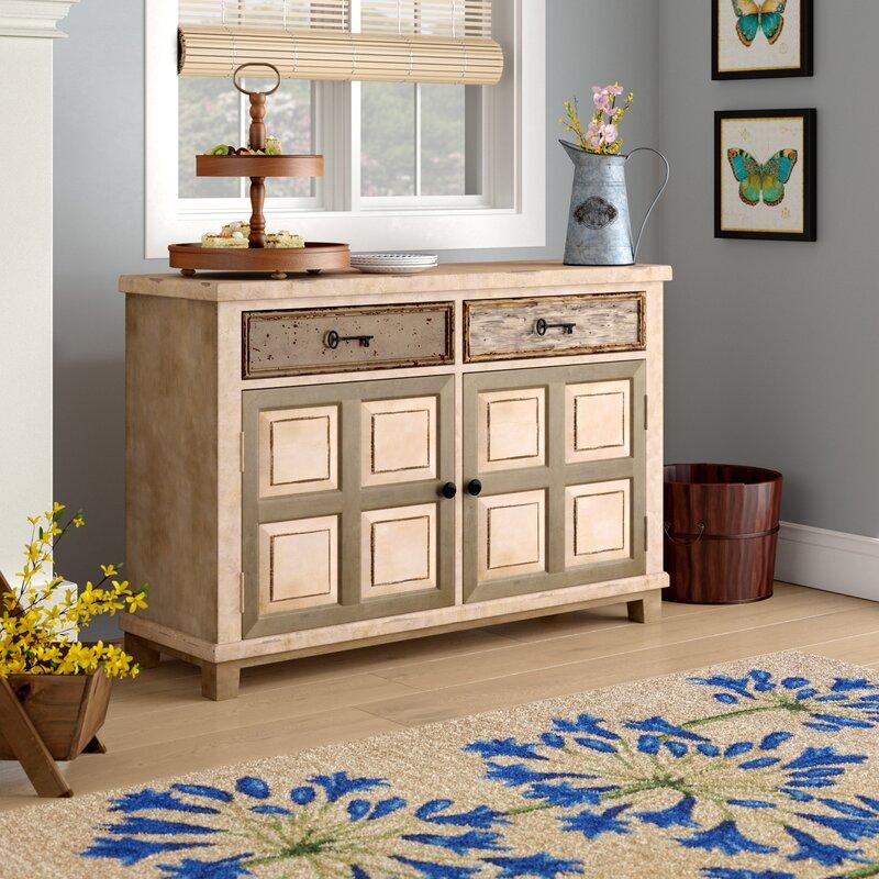 Zettie 2 Drawer 2 Door Accent Cabinet & August Grove Zettie 2 Drawer 2 Door Accent Cabinet u0026 Reviews | Wayfair