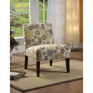 Aberly Fabric Slipper Chair by ACME Furniture
