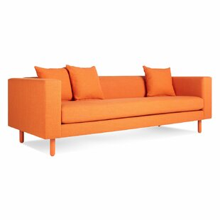 Modern & Contemporary Burnt Orange Sofa | AllModern