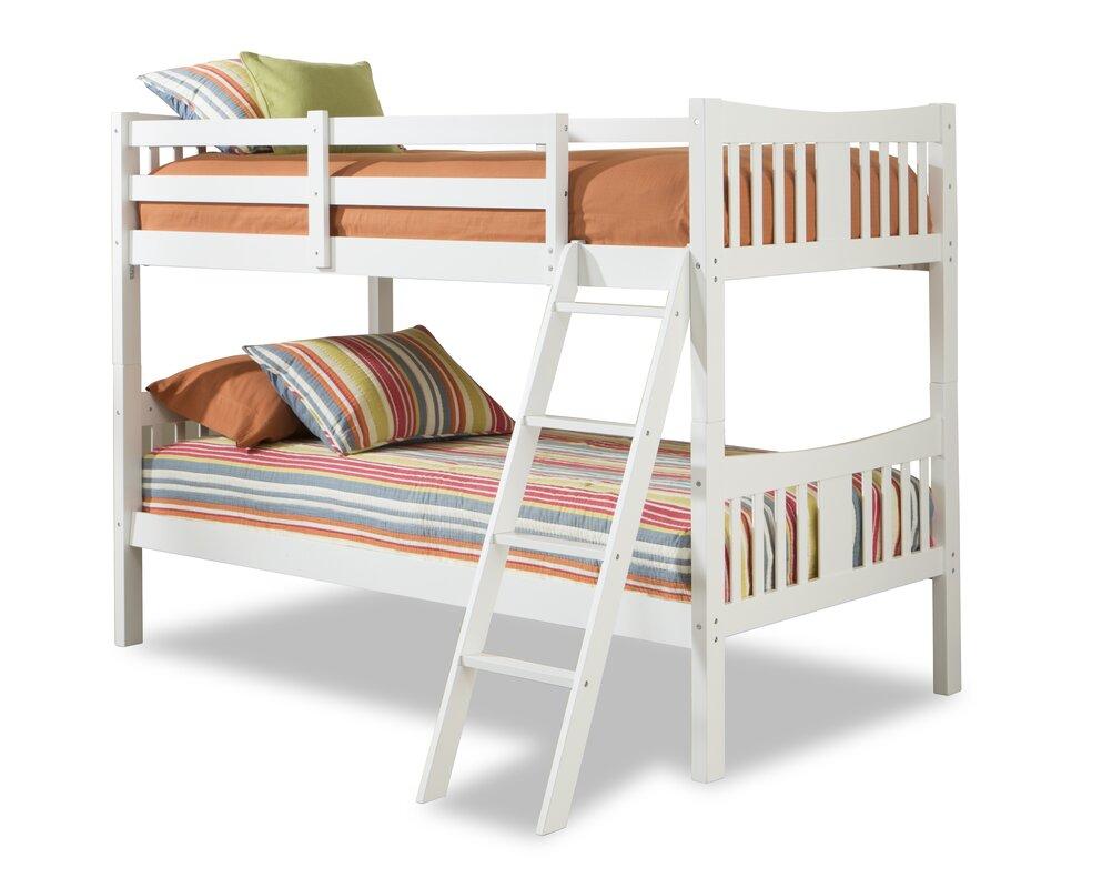 Storkcraft caribou twin bunk bed reviews wayfair for Stork craft caribou bunk bed