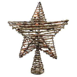 natural star tree topper
