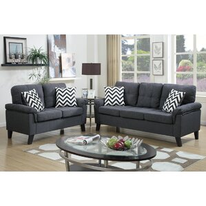 Carli 2 Piece Living Room Set Part 57