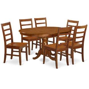 Portland 7 Piece Extendable Dining Set