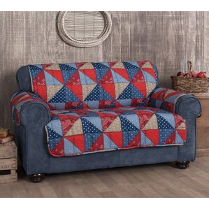 Americana Box Cushion Loveseat Slipcover by Innovative Textile Solutions