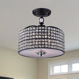 Anay 3-Light Semi Flush Mount