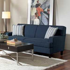 Donegan Sofa in Blue by Mercury Row