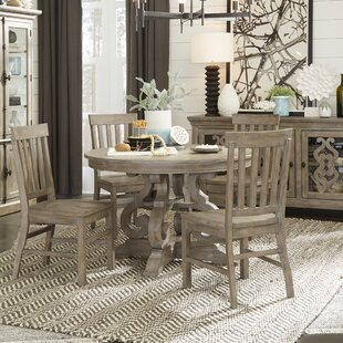 Ellenton 5 Piece Solid Wood Dining Set 2019 Sale