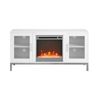 Corner Fireplace Tv Stand Wayfair Co Uk