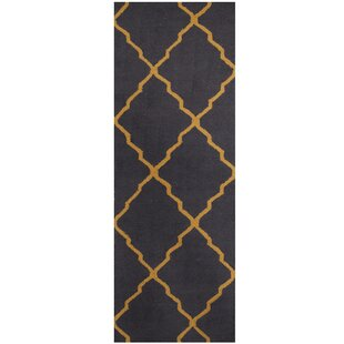 Hand Tufted Navy Light Gold Area Rug