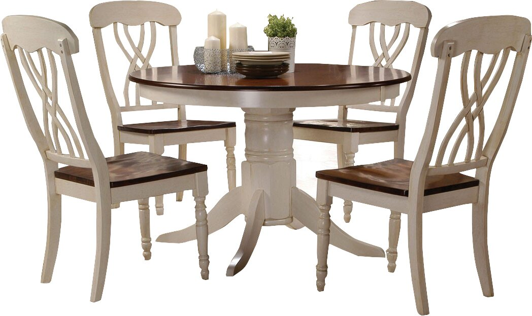 One Allium Way Donnelly 5 Piece Dining Set & Reviews | Wayfair