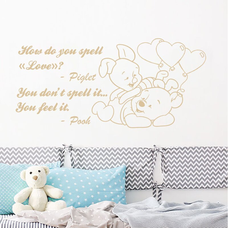 Zoomie Kids Winnie The Pooh Wall Decal Wayfair