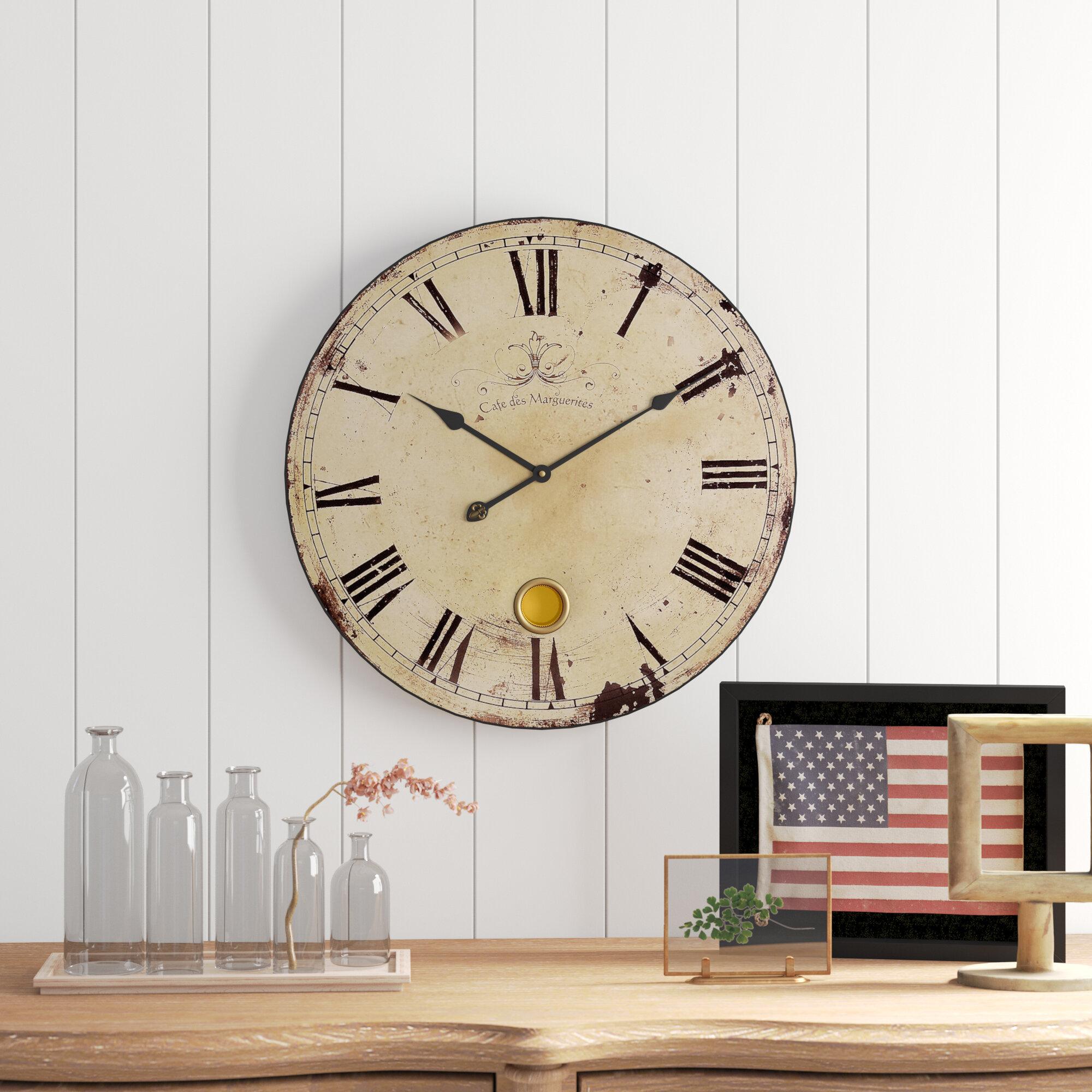 Birch Lane Oversized Wall Clock Reviews Birch Lane