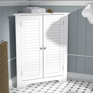 bolanos 255 w x 3125 h corner cabinet - Bathroom Corner Furniture
