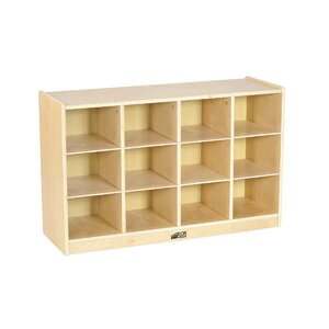 12 Compartment Cubby with Casters