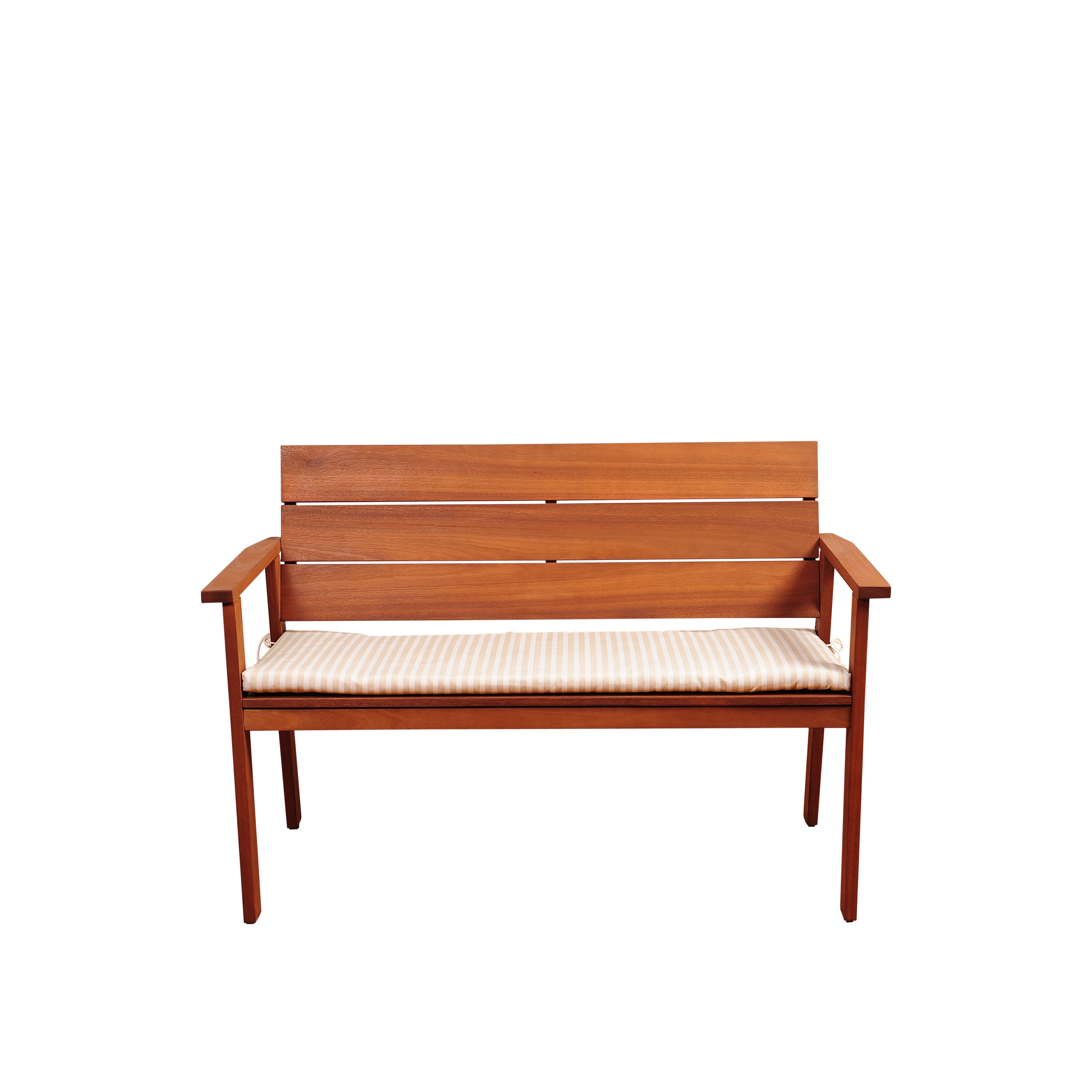 Beachcrest Home Elsmere Eucalyptus Garden Bench With Cushion U0026 Reviews |  Wayfair
