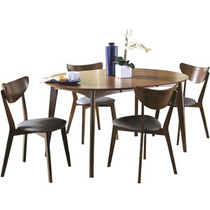 Frederik 5 Piece Dining Set by Infini Furnishings