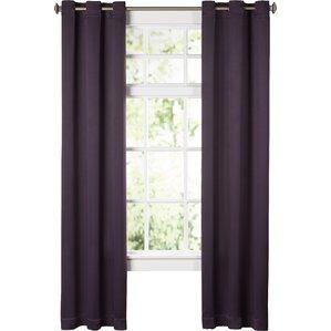 Wonderful Wayfair Basics Solid Blackout Grommet Single Curtain Panel