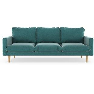 Delightful Robles Mod Velvet Sofa