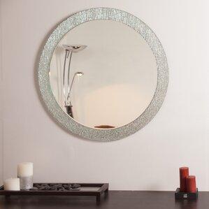 Bathroom Mirrors Round round mirrors you'll love | wayfair