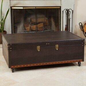 Bowler Trunk and Coffee Table by Home Loft Concepts