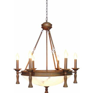 Clifden 6 Light Chandelier