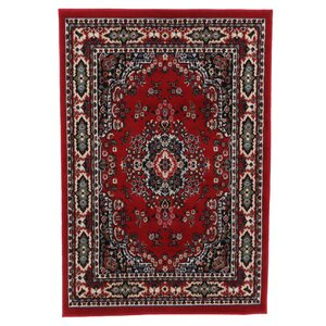 Lilly Claret Area Rug