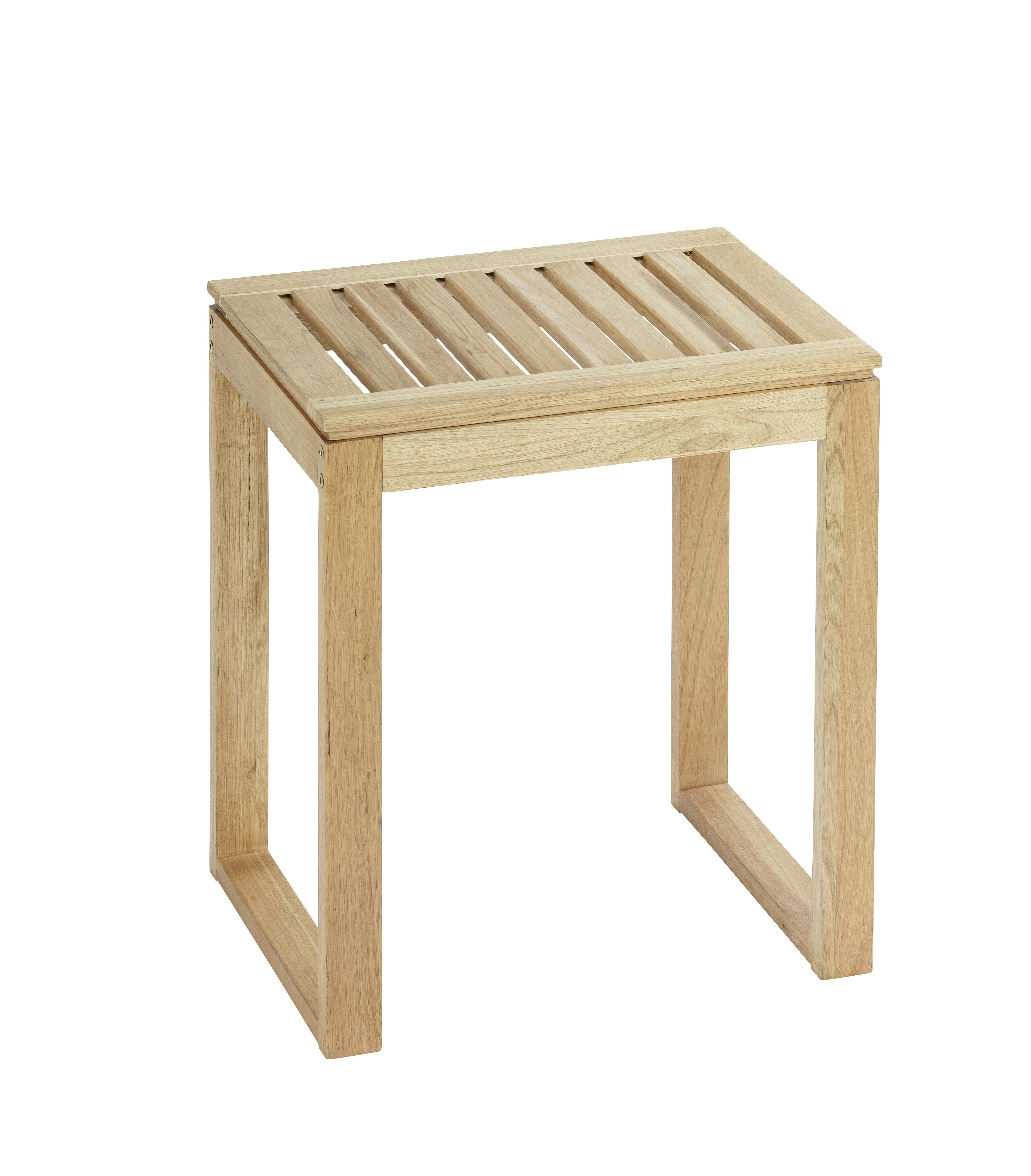 Wenko Norway Wood Free Standing Bathroom Stool Reviews Wayfair Co Uk