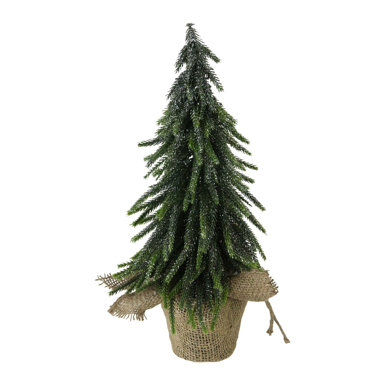 the holiday aisle 12 silver glitter weeping pine artificial christmas tree wayfair
