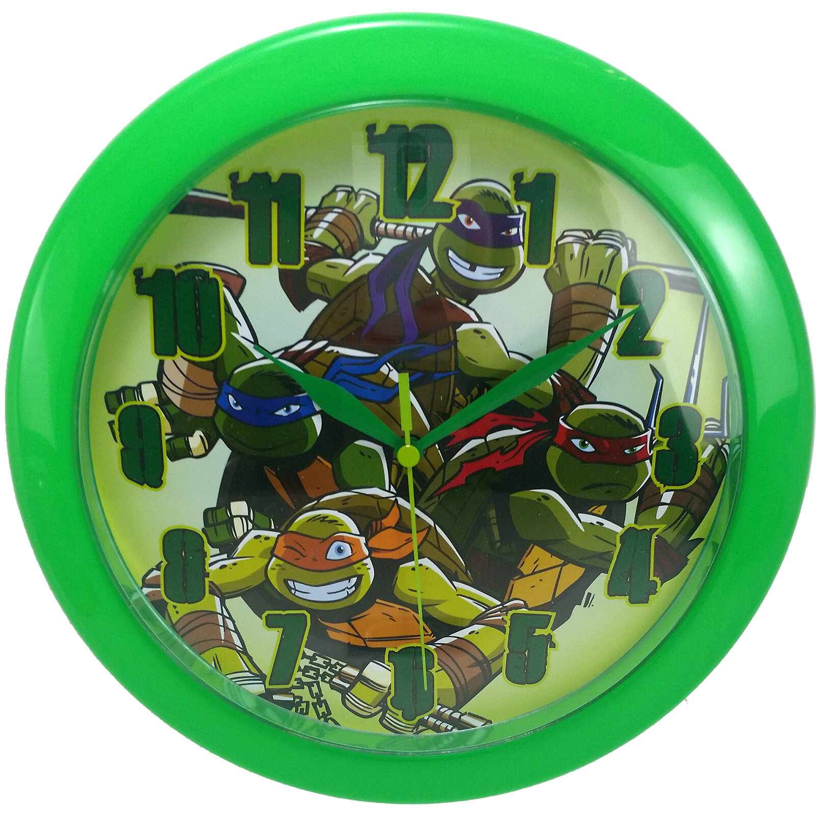 Ashton Sutton 9 75 Teenage Mutant Ninja Turtle Wall Clock Wayfair