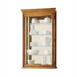 Montreal Wall Mounted Curio Cabinet