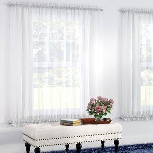 Glass Door Curtains   Wayfair