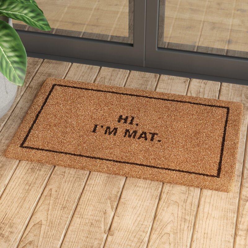 Mercury Row Ursae Hi I'm Mat Doormat & Reviews