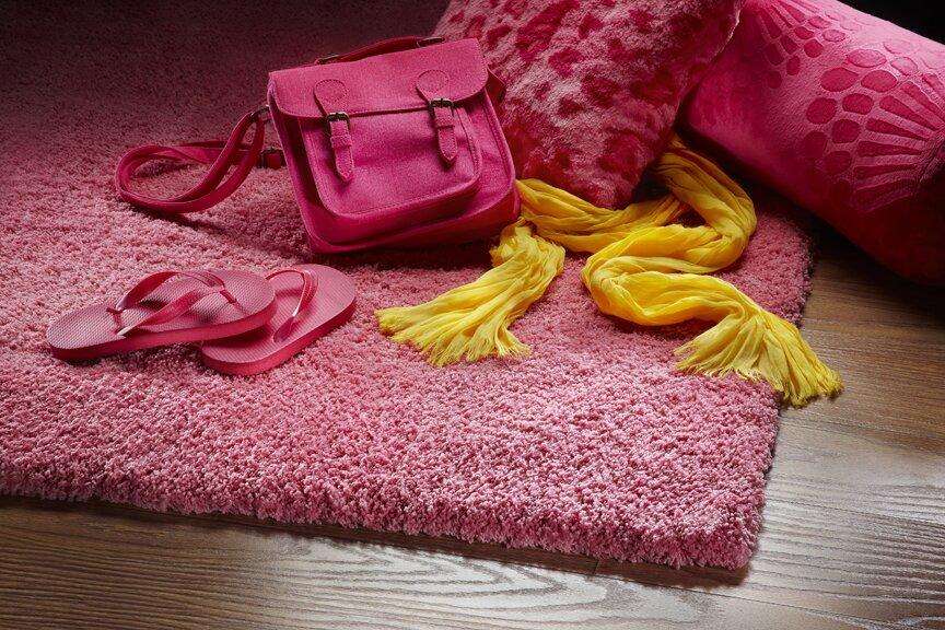Varick Gallery Bouvier Hot Pink Area Rug Reviews Wayfair