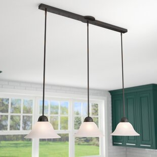 Kitchen Island Lighting Youll Love Wayfair - Three light pendant kitchen